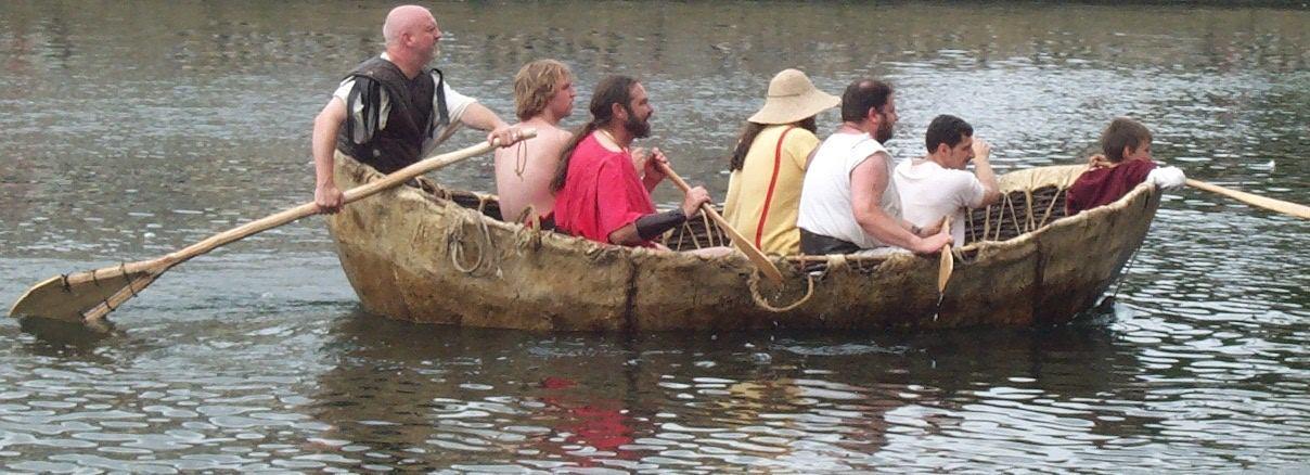 лодка эскимосов умиак