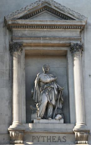 pytheas statue